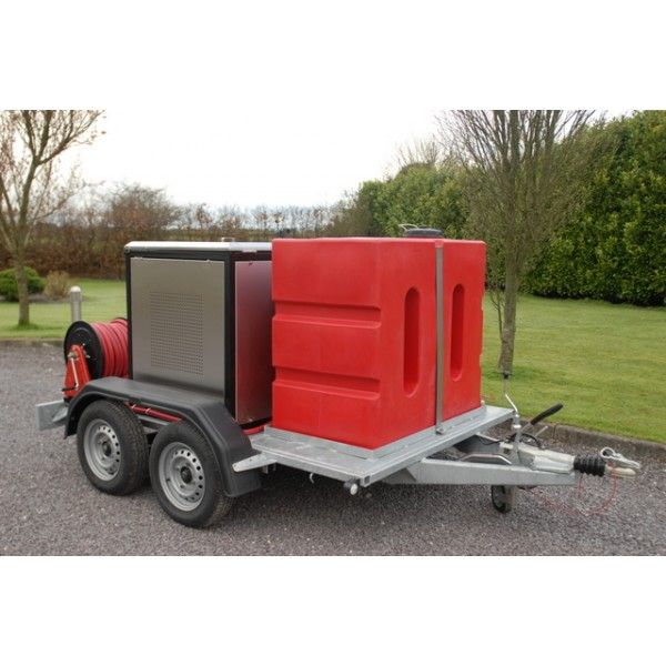 DIESEL ENGINE HOT & COLD TRAILER WASHER