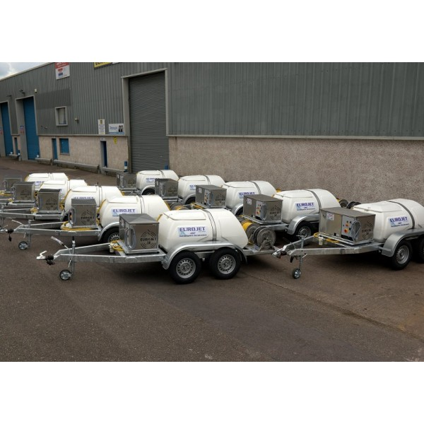 Trailer Mounted Electric Bowser Unit