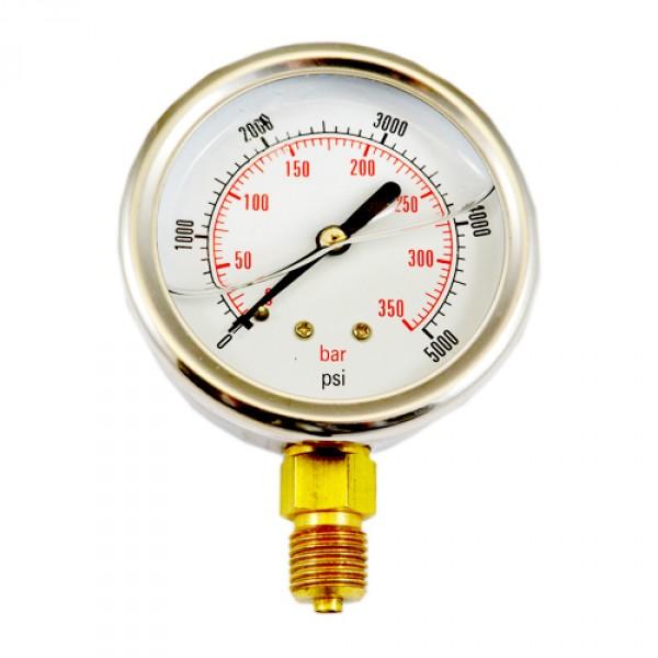 0-250 BAR Side Entry Pressure gauge